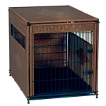 Solvit Mr. Herzher Pet Residence: Large, Dark Brown