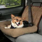 Solvit Car Cuddler: Small, Brown