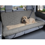 Solvit Car Cuddler: Large, Grey