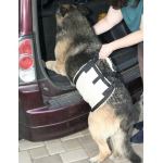 Hunter K9 Gear Komfy fleece Mobility Sling: Small