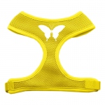 Butterfly Design Soft Mesh Harnesses Yellow Small