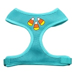 Candy Corn Design Soft Mesh Harnesses Aqua Large