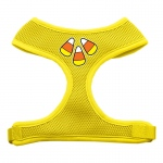 Candy Corn Design Soft Mesh Harnesses Yellow Medium