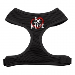 Be Mine Soft Mesh Harnesses Black Large