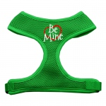 Be Mine Soft Mesh Harnesses Emerald Green Large