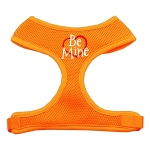 Be Mine Soft Mesh Harnesses Orange Large