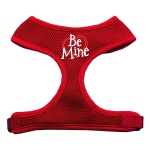 Be Mine Soft Mesh Harnesses Red Large
