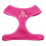 Be Mine Soft Mesh Harnesses Pink Medium