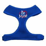 Be Mine Soft Mesh Harnesses Blue Extra Large