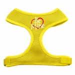 Be Mine Soft Mesh Harnesses Yellow Extra Large