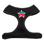 Republican Screen Print Soft Mesh Harness Black Medium