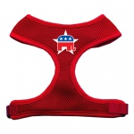 Republican Screen Print Soft Mesh Harness Red Small