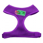 From Santa Tag Screen Print Mesh Harness Purple Medium