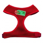 From Santa Tag Screen Print Mesh Harness Red Extra Large