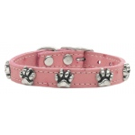Faux Ostrich Paw Leather Pink 18