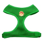 Santa Face Chipper Emerald Harness Small