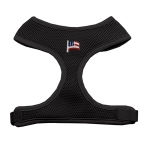 American Flag Chipper Black Harness Medium