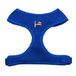 American Flag Chipper Blue Harness Large