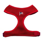 American Flag Chipper Red Harness Medium