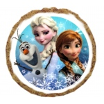 Frozen's Elsa and Anna with Olaf Dog Treats - 6 Pack