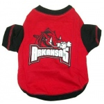 Arkansas Razorbacks Pet Shirt LG