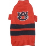 Auburn Tigers Pet Sweater LG