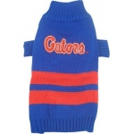 Florida Gators Pet Sweater LG
