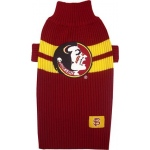Florida State Seminoles Pet Sweater XS