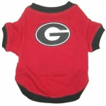 Georgia Bulldogs Pet Shirt SM