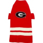 Georgia Bulldogs Pet Sweater MD
