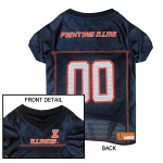 Illinois Fighting Illini Pet Jersey XL