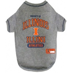 Illinois Fighting Illini Pet Shirt MD