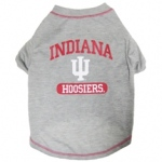 Indiana Hoosiers Pet Shirt LG