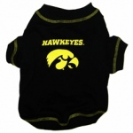 Iowa Hawkeye Pet Shirt SM