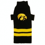 Iowa Hawkeye Pet Sweater XS
