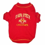 Iowa State Cyclone Pet Shirt SM