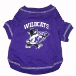 Kansas State Wildcats Pet Shirt LG
