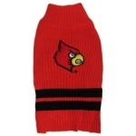 Louisville Cardinals Pet Sweater SM