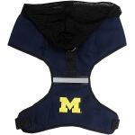 Michigan Wolverines Pet Harness LG