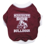 Mississippi State Bulldogs Pet Shirt XS