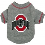 Ohio State Buckeyes Pet Shirt XS