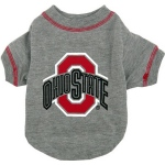 Ohio State Buckeyes Pet Shirt SM