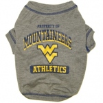West Virginia University Pet Shirt XS