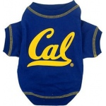 California State Golden Bears Pet Shirt SM