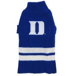 Duke Blue Devils Pet Sweater LG