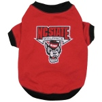North Carolina State Wolfpack Pet Shirt SM