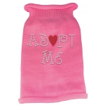 Adopt Me Rhinestone Knit Pet Sweater XS Pink