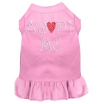 Adopt Me Rhinestone Dress Light Pink 4X (22)