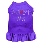 Adopt Me Rhinestone Dress Purple XXL (18)