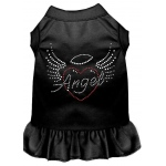 Angel Heart Rhinestone Dress Black 4X (22)